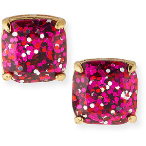 katespade glitter earrings